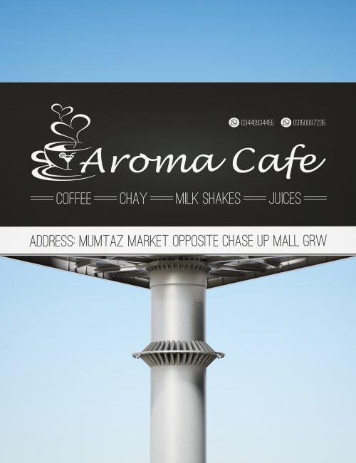 Aroma Café (Advertisement Designs)