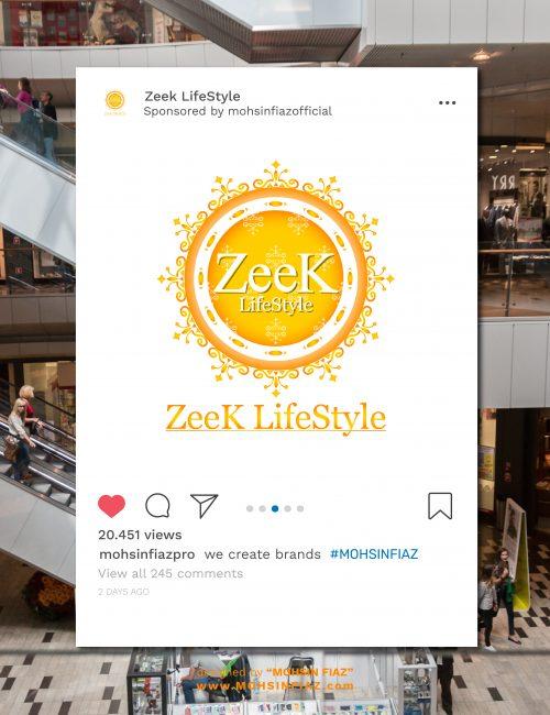 Zeek LifeStyle (Complete Branding)